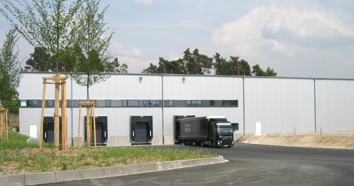 2007 - The new refrigerated store is ready for use (Foto: Schwarz Logistik)